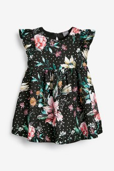 Floral Ponte Party Dress (3mths-7yrs)