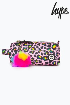 Hype. Disco Leopard Pencil Case