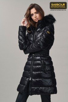 Barbour® International Darley Moore Longline Puffer Quilted Coat