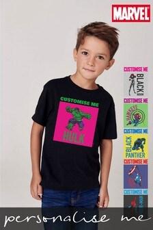 Personalised Disney™ Marvel® Superheroes T-Shirt