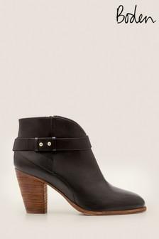 Boden Black Stratford Ankle Boots