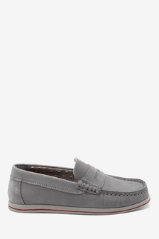 Nubuck Penny Loafers (Older)