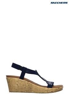 Skechers® Blue Beverlee Date Glam Sandals