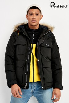 Penfield Black Lansing Jacket