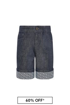 Emporio Armani Boys Navy Shorts