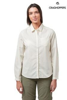 Craghoppers White Kiwi Shirt