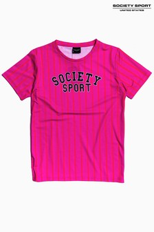 Society Sport Kids Vertical Stripe T-Shirt