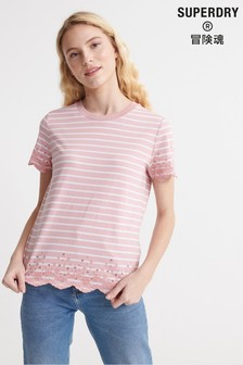 Superdry Summer Schiffli T-Shirt