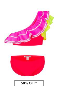 Nessi Byrd Multi Girls Multicoloured Bikini