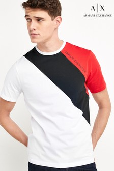 Armani Exchange Colourblock T-Shirt