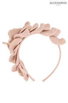 Accessorize Nude Layered Petal Headpiece