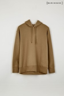 Warehouse Camel Relaxed Hoody