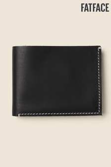 FatFace Black Stitch Detail Wallet