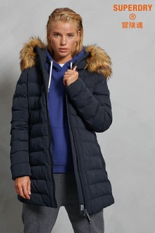 Superdry New Arctic Tall Padded Coat