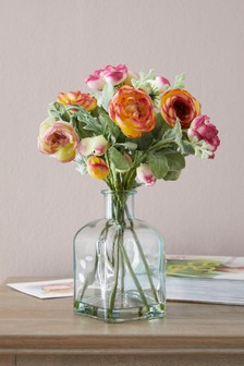 Artificial Ranunculus Mix In Bottle