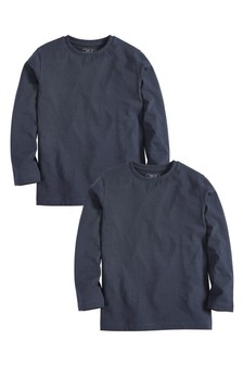 2 Pack Long Sleeve T-Shirts (3-16yrs)