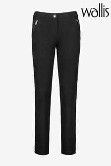 Wallis Petite Black Skinny Trousers