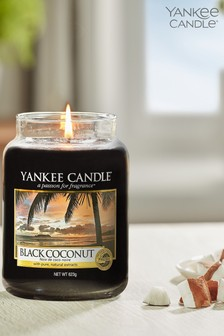 Yankee Candle Classic Large Black Coconut Candle