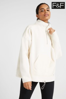 F&F Cream Borg Fleece