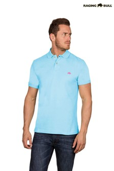 Raging Bull Sky Blue New Signature Polo