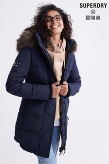 Superdry Premium Down Classics Rescue Parka Coat