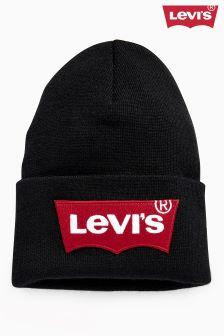 Levi's® Oversized Batwing Logo Beanie
