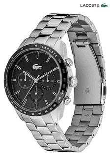 Lacoste Silver Tone Stainless Steel Boston Watch