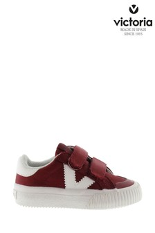 Victoria Red Trainers