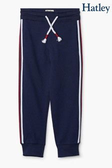 Hatley Blue Navy Side Stripe Joggers
