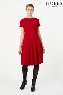 Hobbs Red Tessa Dress