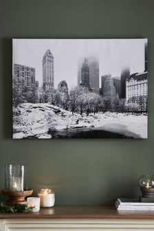 Snowy Landscape Canvas