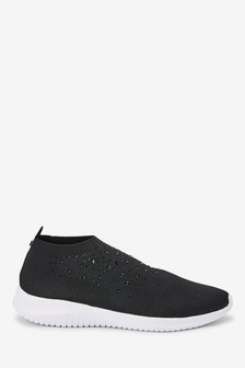 Fly Knit Sock Trainers