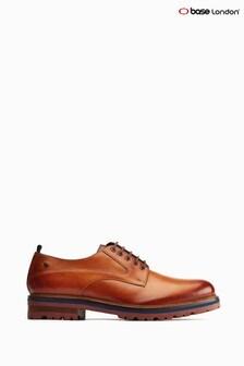 Base London® Tan Dunton Chunky Sole Derby Shoes