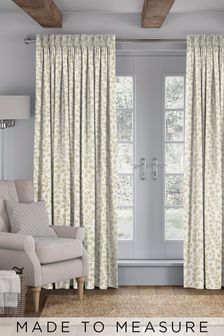 Lucerne Brass Gold Made To Measure Curtains