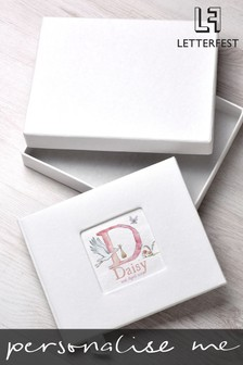 Personalised New Baby Photo Album By Letterfest