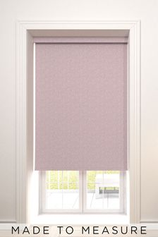 Raya Rose Pink Made To Measure Roller Blind