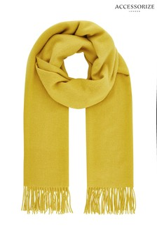 Accessorize Green Holly Supersoft Blanket Scarf
