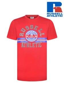 Russel Athletic Collegiate Stripe Graphic T-Shirt