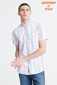 Superdry Candy Stripe Short Sleeve Shirt