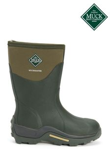 Muck Boots Green Muckmaster Mid Wellington Boots