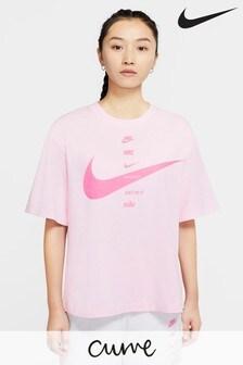 Nike Curve Swoosh Boyfriend Fit T-Shirt