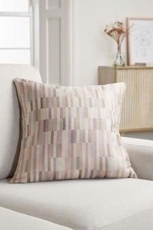 Block Geo Jacquard Cushion