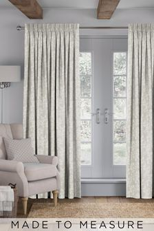 Blossom Natural Made To Measure Curtains