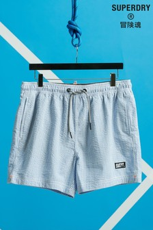 Superdry Volley Seersucker Swim Shorts