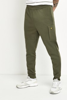 Lyle & Scott Olive Pocket Joggers