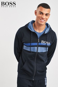 BOSS Blue Authentic Zip Sweater