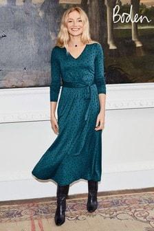 Boden Blue Ferne Jersey Midi Dress