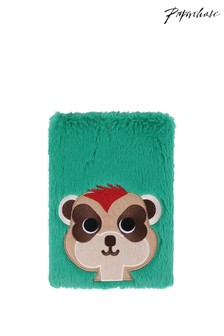 Paperchase A5 Faux Fur Meerkat Notebook