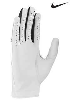Nike Mens White RH Dura Feel Golf Gloves