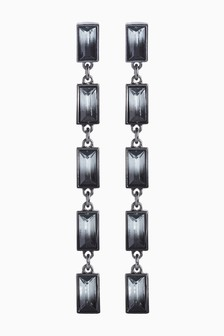 Ombre Jewel Drop Earrings